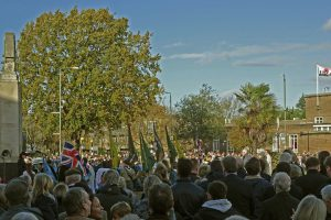 Beckenham Remembrance Sunday 2018