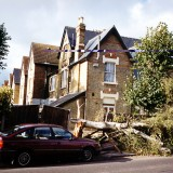 Storm damage Oct 2000