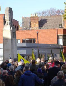 Beckenham Remembrance Sunday 2018